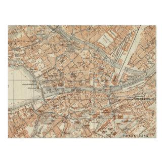 Vintagekarta av Zurich Schweitz (1913) Vykort