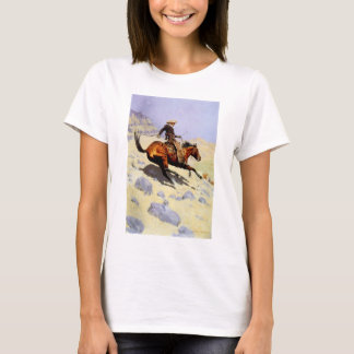 Vintagekavallerimilitär, cowboyen vid Remington Tshirts
