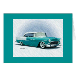 Vintageklassikerbil - Chevy Bel Air kort 1956