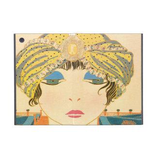Vintagekvinna i Turban iPad Mini Skydd