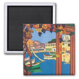 VintageLa Cote d'Azur Magnet