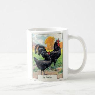 VintageLaFleche höna Kaffemugg