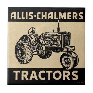Vintagelantgårdtraktor Liten Kakelplatta
