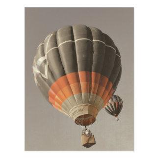 Vintageluftballongvykort Vykort