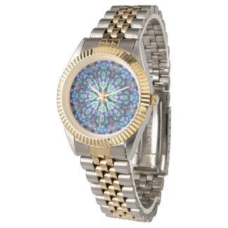 Vintagemanar för sten undra färgrika klocka