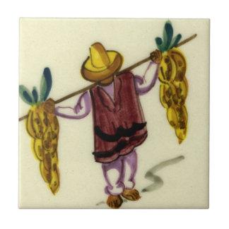 Vintagemexikanen belägger med tegel - bärande bana kakelplatta