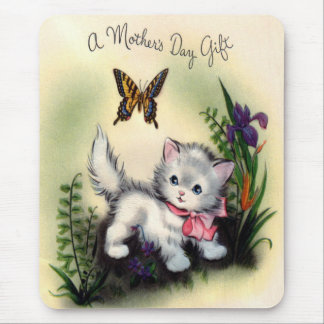 Vintagemors dag Mousepad Musmatta