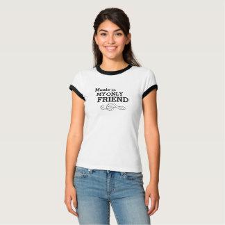 Vintagemusik är min endast vänRinger Tee Shirts