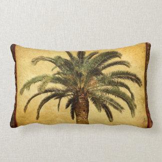 Vintagepalmträd - tropisk skräddarsy mall prydnadskudde