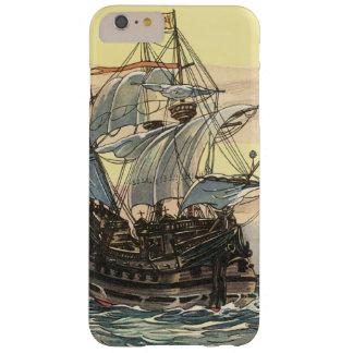 Vintagepiratfrakt, spansk gallionsegling på hav barely there iPhone 6 plus fodral