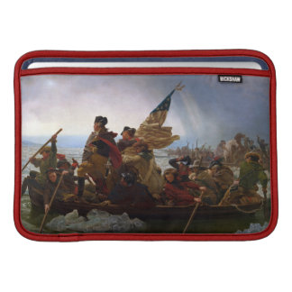 Vintagepresident George Washington korsningen Sleeve För MacBook Air