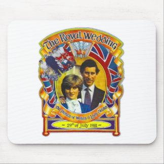 VintagePunk 80' sroyal gifta sig Charles och Di Mus Matta