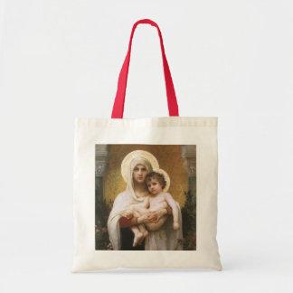 Vintagerealism, Madonna av ro, Bouguereau Tygkasse