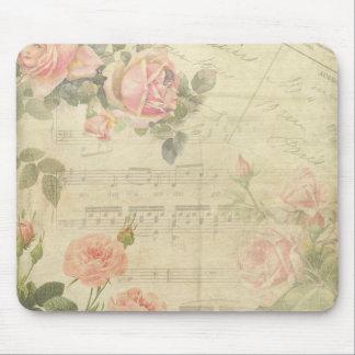 Vintagero och musik Mousepad Musmatta