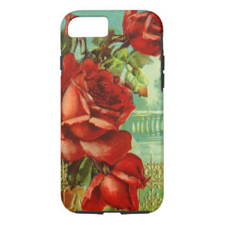 Vintageröd ros