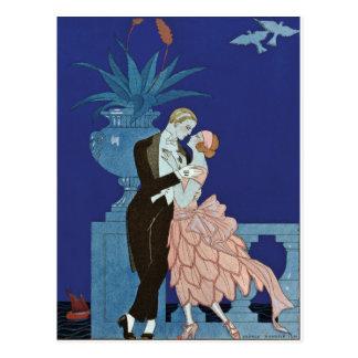 "Vintageromantiker kopplar ihop ~ ""Oui "", Vykort"