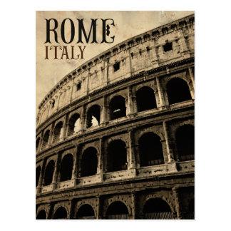 vintagerome italien vykort