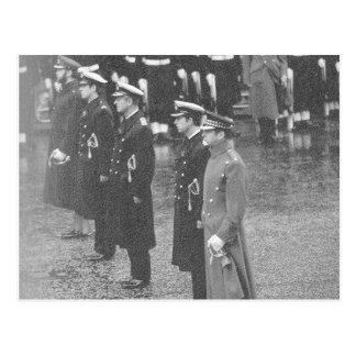 Vintageroyalty, brittiska Princes, minnedag Vykort