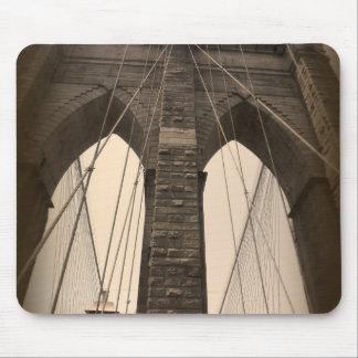 VintageSepia Brooklyn överbryggar Mus Mattor