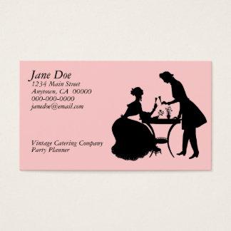 VintageSilhouette Visitkort