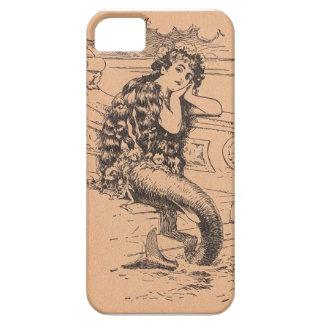 Vintagesjöjungfrufodral iPhone 5 Case-Mate Fodral