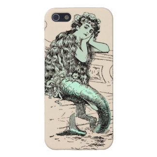 Vintagesjöjungfruiphone case iPhone 5 cover