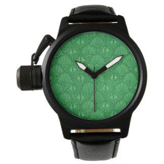Vintagesnäckskalgrönt Armbandsur