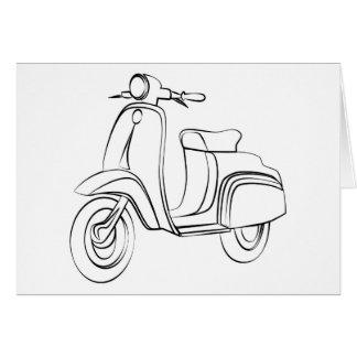 Vintagesparkcykel Hälsningskort