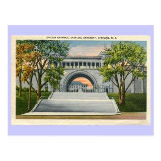 Vintagestadionen hänrycker den Syracuse Vykort