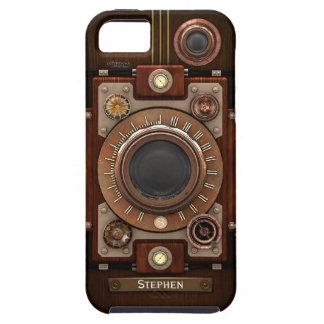 VintageSteampunk kamera #1C iPhone 5 Fodraler