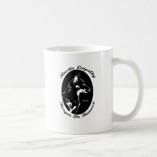 VintagestilBeauceron porträtt Kaffemugg