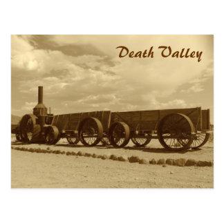 VintagestilDeath Valley vykort! Vykort