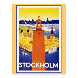 VintageStockholm sverige Vykort