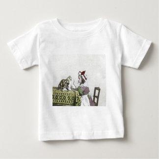 VintageTeaTime party med stygg kattunge Tee Shirt