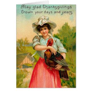 Vintagethanksgiving OBS Kort