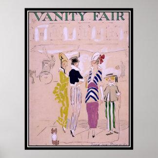 Vintagetidskriften täcker art décoaffischen 1914 poster
