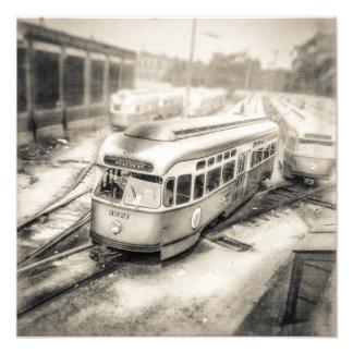 VintageTrolley 1087-3321 Fotografiska Tryck