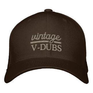 VintageV-Duber broderade den Flexfit hatten Broderad Keps