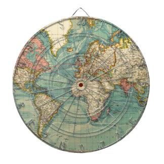 Vintagevärldskarta Darttavla