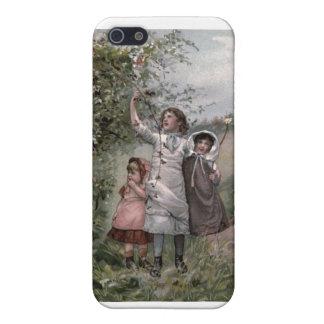 VintageVictorian & gulligt: Björnbärplockning iPhone 5 Cover