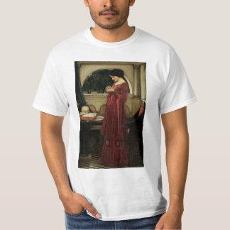 VintageVictoriankonst, kristallkula vid T-shirts