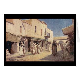 Vintagevykort Algeriet Beni Mora Hälsningskort