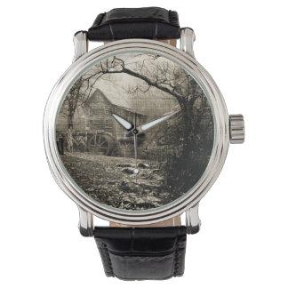 VintageWaterwheel Armbandsur