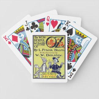 VintageWizard of Oz bokomslag Spelkort