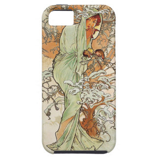 Vinter 1896 för vintageart nouveau~ iPhone 5 Case-Mate skydd