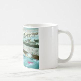 Vinter i Cornwall Kaffemugg