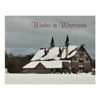 Vinter i Wisconsin Vykort