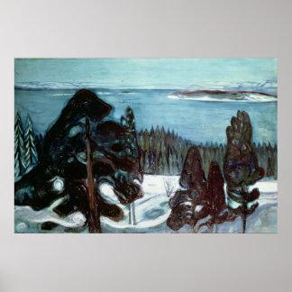 Vinter Natt, 1900 Poster
