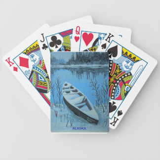 Vinter på floden spelkort
