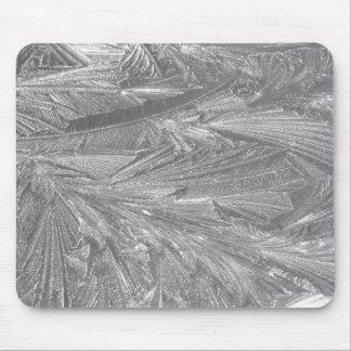 Vinter som glaseras i svartvitt musmatta